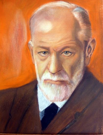 Sigmund Freud by ike